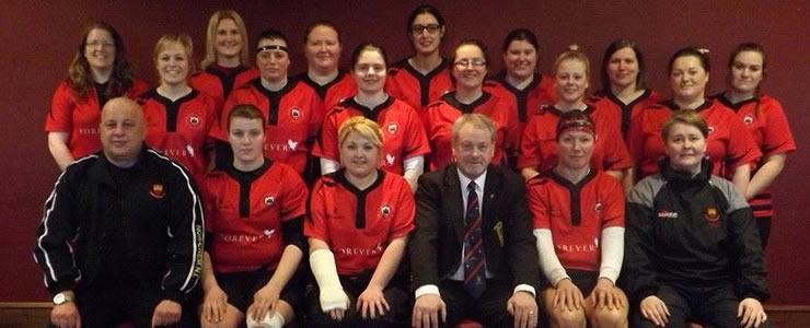 Carrick RFC Ladies 150th Year