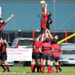Up in the Air - Carrick 2nds played host to Ballyclare 2nds   INLT 37-410-RM