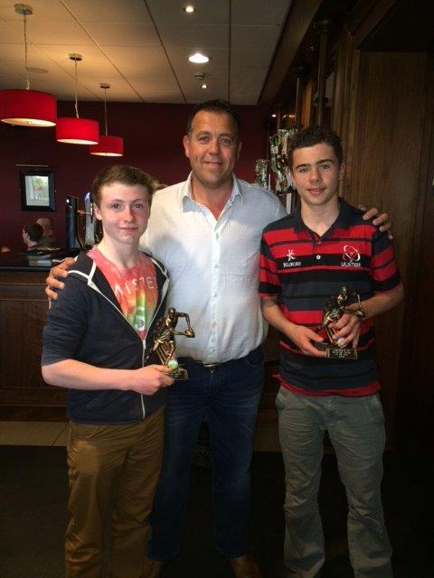 U13 Player player of the year Ciaran Wilson & Jack Cooper