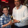 U13 Young player of the year Mathew Robinson