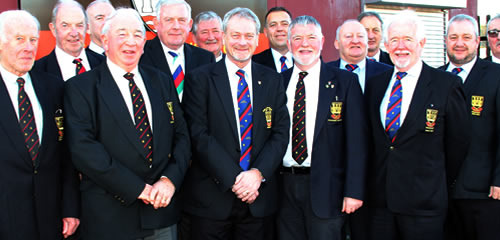 Bill Crymble, CRFC President with Past Presidents